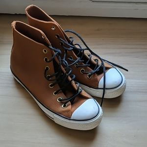 High top converse sneakers